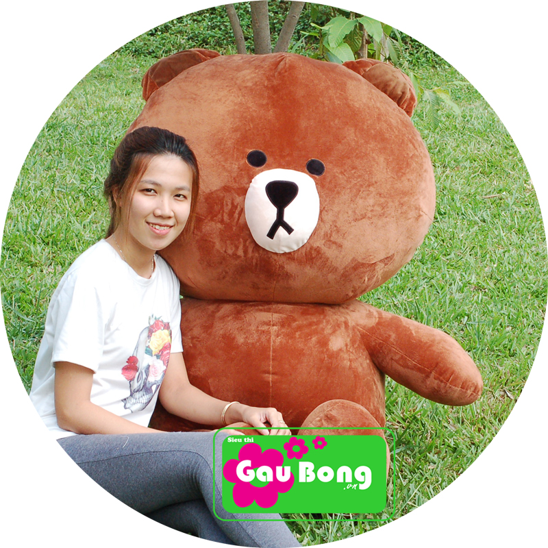 Gấu Brown 1m5