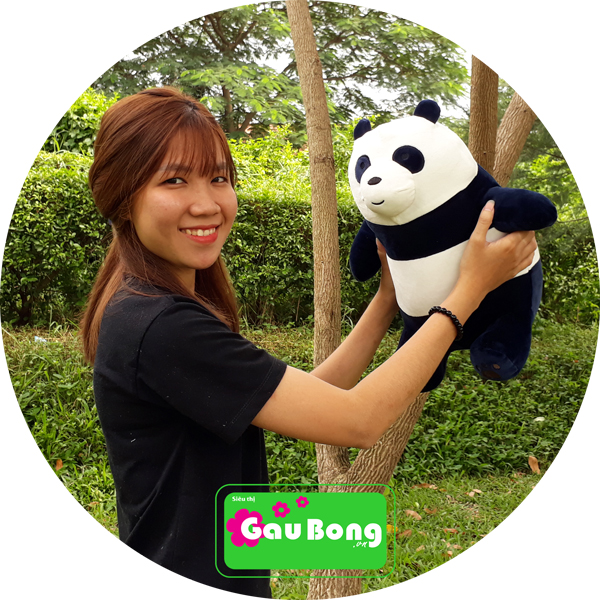 Gấu Bông We Bare Bear - Panda bear